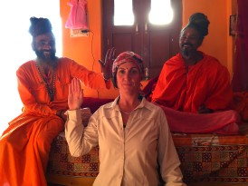 annabelle and sadhus