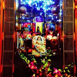 Sadhana Yoga shrine (courtesy of Mel James