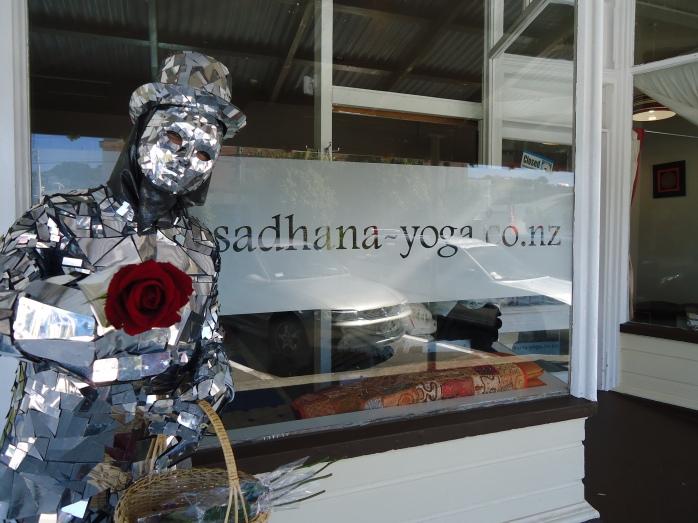The Mirrorman on Valentine's Day in Miramar