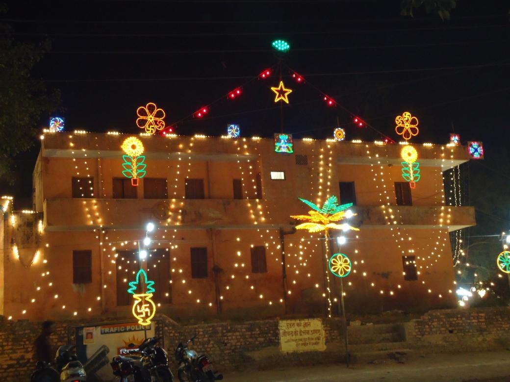Xmas in Hardiwar, India