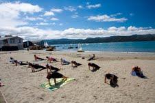 beach yoga 7