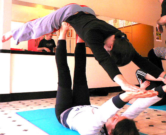 flying yogis