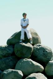 ali on boulders