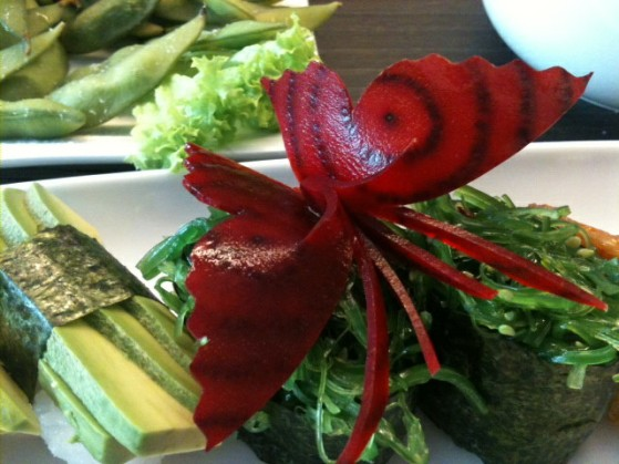 beetroot butterfly