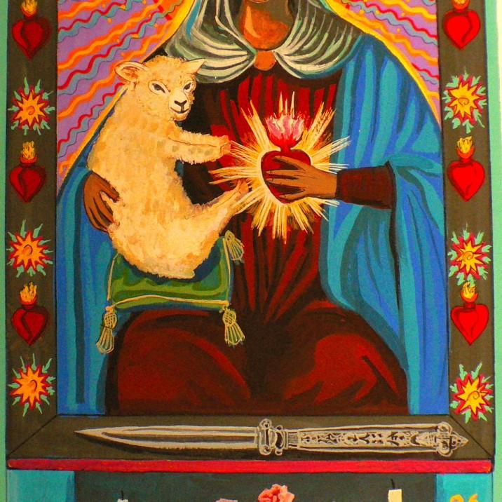 Madonna and Lamb