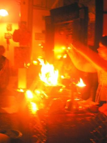 fire ritual sadhana