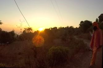 Guruji and the sun