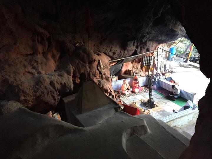 inside kali cave
