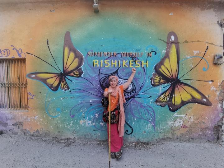 Ali in Rishikesh